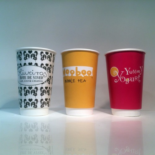 Printed Paper Cups - a descendant of hygienic Health Kups or
