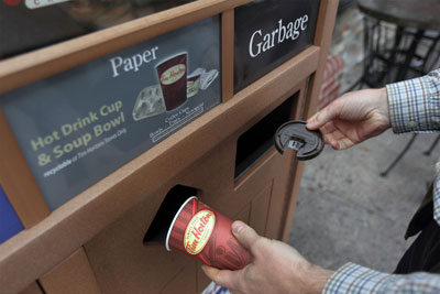 British company develops technology to recycle disposable coffee cups