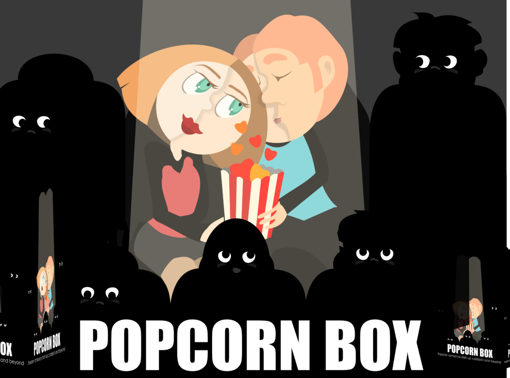 Popcorn Boxes have now gone beyond movie theatres