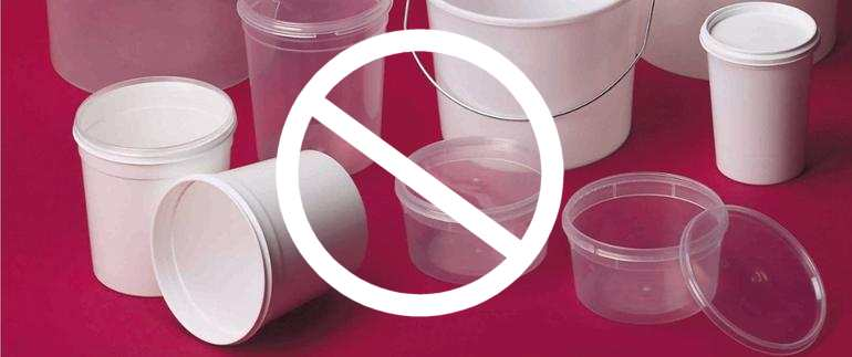 France bans Plastic Cups and Utensils used as Deli Containers from 2020