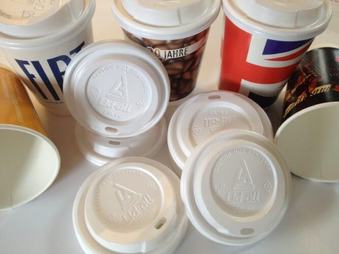The perfect companion of a branded coffee cup