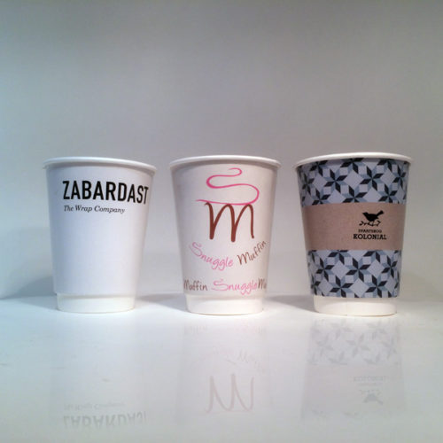 Fast food joints and exclusive cafe alike - the Branded Coffee Cups are a must if you want to leave an impression on your customers