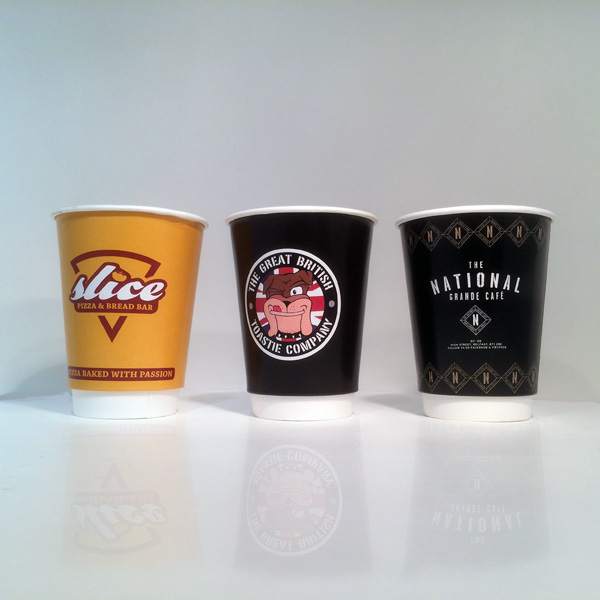 Double Wall Paper Cups - Branded Paper Cups UK - 100% UK