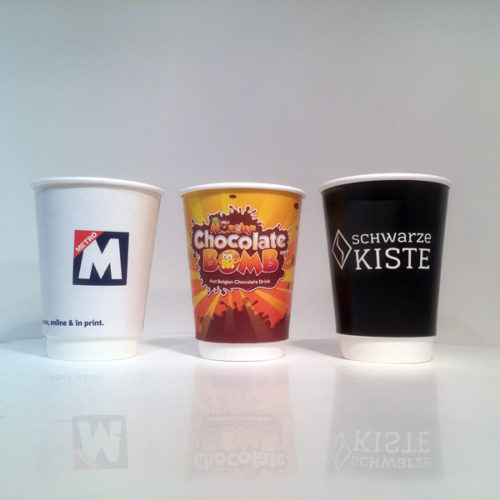 Double Wall Hot Cups - the Coffee Cup that Branded Coffee Shops will vouch for