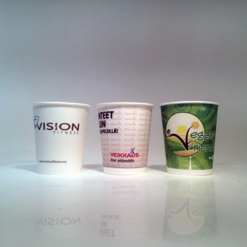 Single Wall Paper Cups are very popular at health and fitness centers, as they are the best possible tool to promote your services and quality, while patients and participants wait.