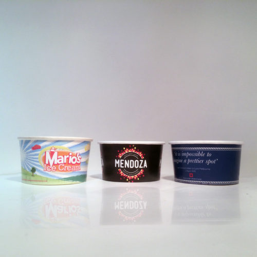 Ice Cream Pots - the most popular sizes being 3oz and 5oz ice cream cups