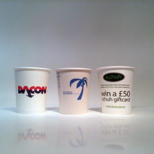 People use Single Wall Paper Cups more often at drinking water dispensers than they would use coffee cups per day, and thus for quick promotion, single wall paper cups are invaluable.