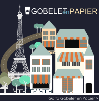 GobeletenPapier, the French Branded Paper Cups website is doing great
