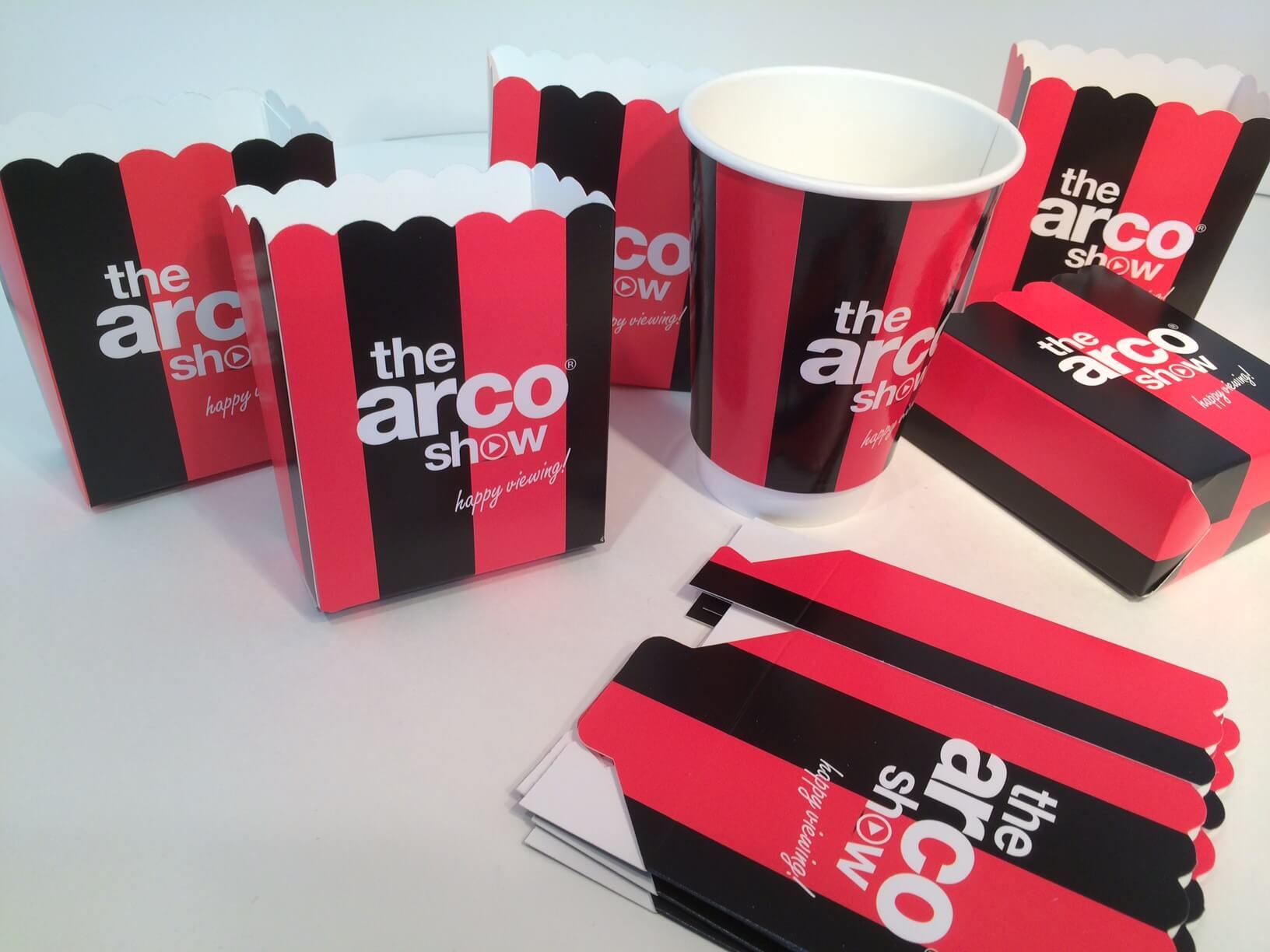 Popcorn Boxes - Branded Paper Cups UK - 100% UK Manufacturer