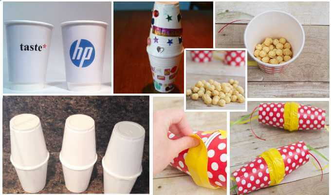 Getting Crafty With Paper Cups