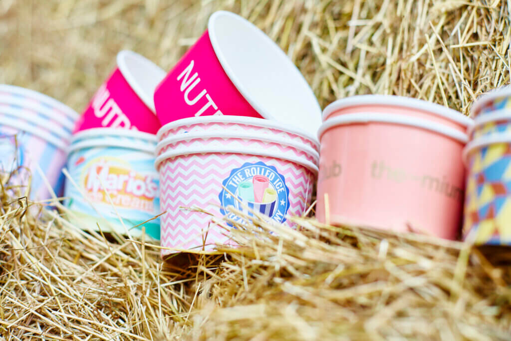 Branded Ice Cream Cups